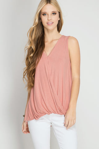 Sleeveless Criss Cross Top