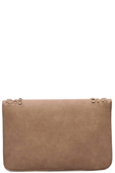 Braided Envelope Clutch