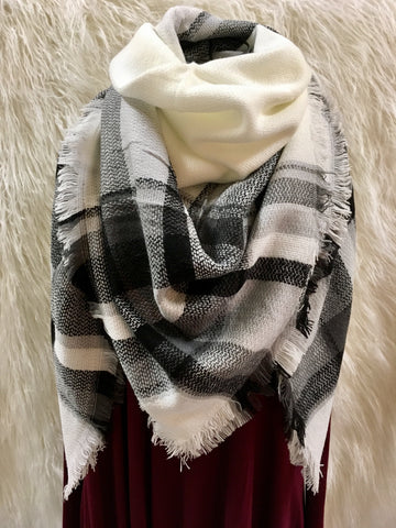 Winter Snow Scarf