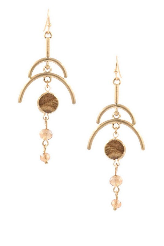 Elements of Gold Earrings