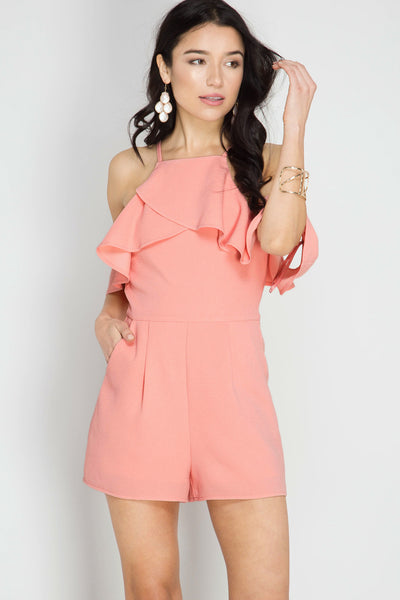 Just Peachy Romper