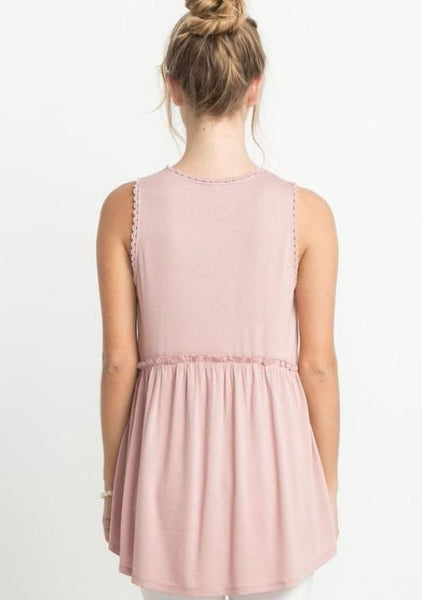 Babydoll Sleeveless Top