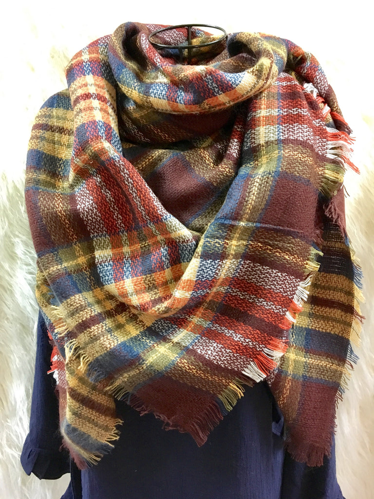 Crazy About Plaid Scarf