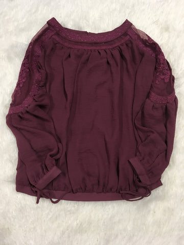 Faded Plum Top