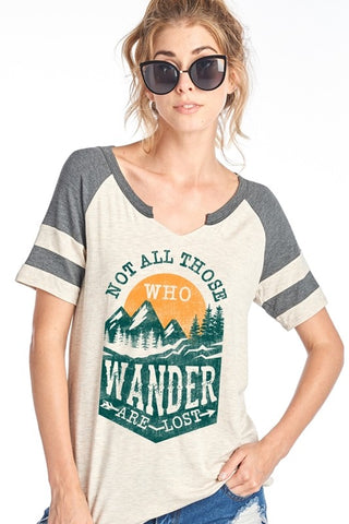 Not All Those Who Wander Tee