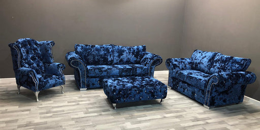 Duresta Lustro Crushed Velvet Sofa Range