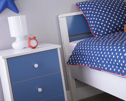 MIAMI 3 Drawer Bedside