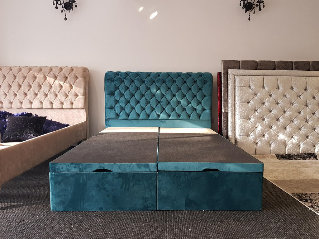 Superb Prince Sleigh Ottoman Bed No Foot Pdpeps Interior Chair Design Pdpepsorg