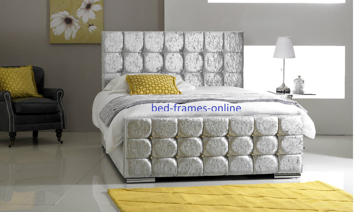 cubed style  Bedstead - BESPOKEZ