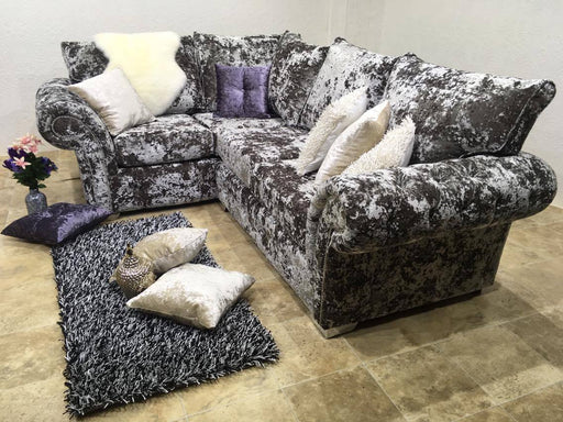 BALMEIN EXCLUSIVE LUSTRO CRUSHED VELVET SOFA RANGE - Furniture Imports LTD