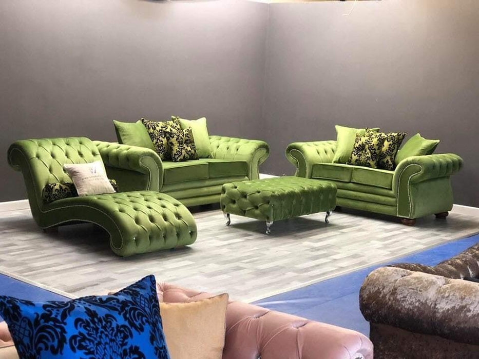 LA PAREE FRENCH VELVET SOFA RANGE - Furniture Imports LTD