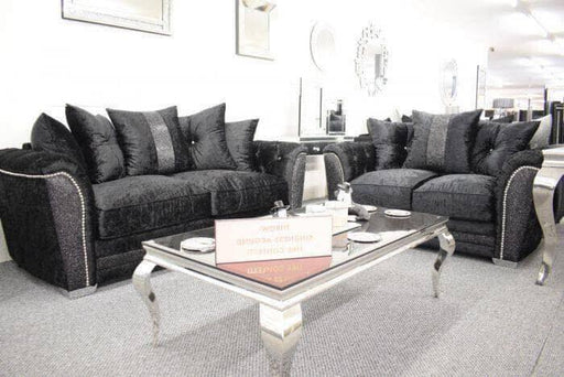 Luxury Essex range  - Corner sofa + 3+2 + Swivel Chair