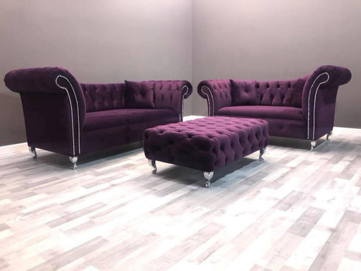 RAPHAEL FRENCH VELVET SOFA RANGE - Furniture Imports LTD