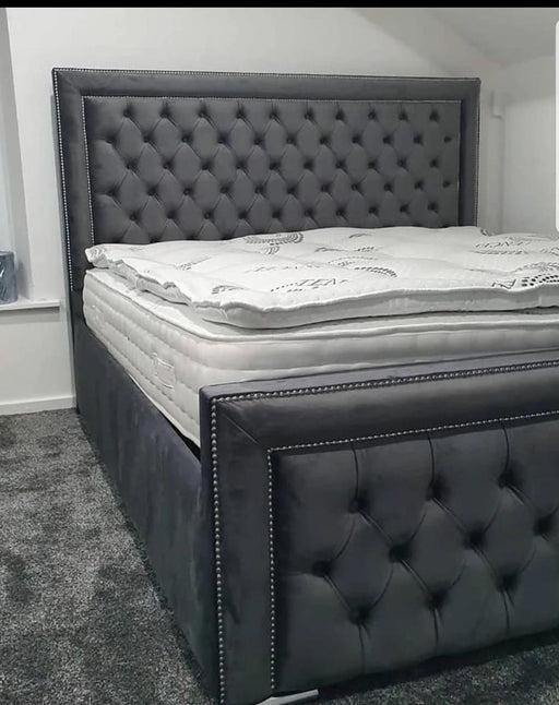 ARIZONA BED IN PLUSH VELVET - Furniture Imports LTD