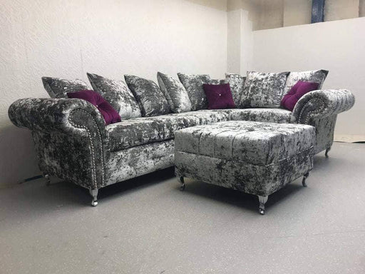 BALMEIN EXCLUSIVE LUSTRO CRUSHED VELVET SOFA RANGE
