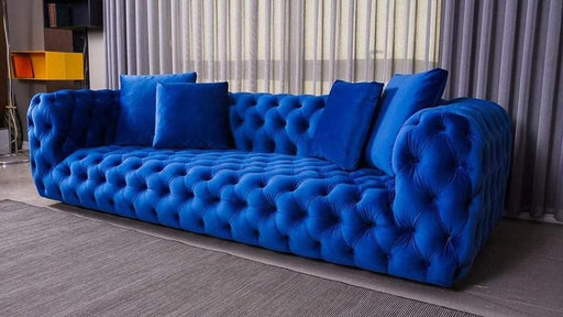 Buxton Velvet Sofa Range - Furniture Imports LTD