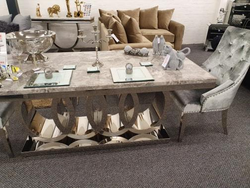 Audi 1.8m Dining Table - Furniture Imports LTD