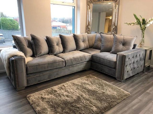 VOGUE LUSTRO CRUSHED VELVET SOFA RANGE