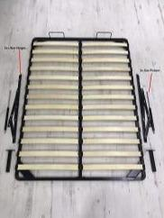 SLATTED OTTOMAN LIFT UP STORAGE MECHANISM - Furniture Imports LTD