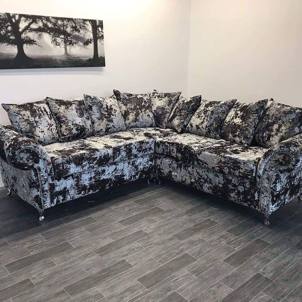 Allison Lustro Velvet Sofa Range - Furniture Imports LTD