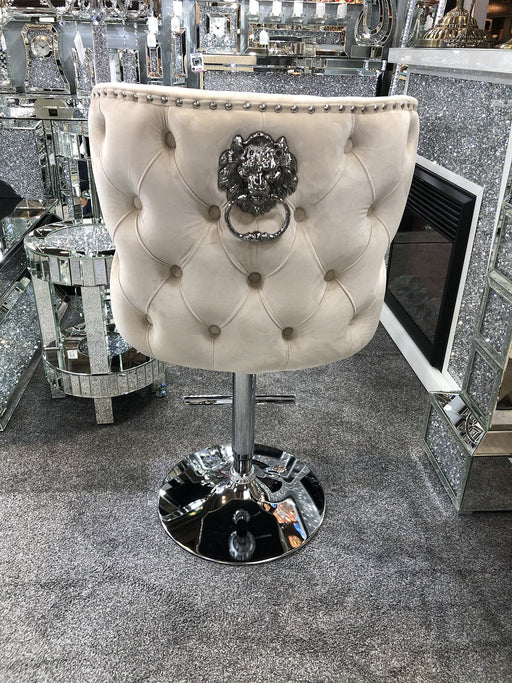 Valentino Luxury Lion KnockerBack Barstool - 4 Colours