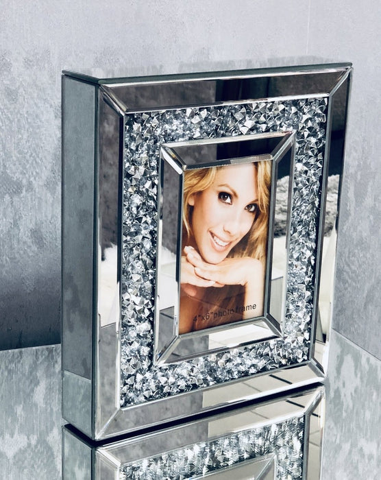 Crushed Large Photo Frame - Furniture Imports LTD