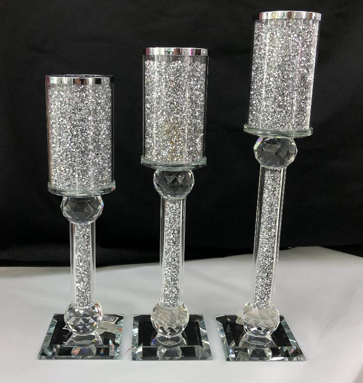 Crystal Candle Holder - Furniture Imports LTD