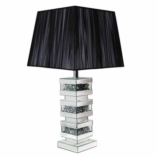 Crushed Diamond 3 Layer Lamp - Furniture Imports LTD