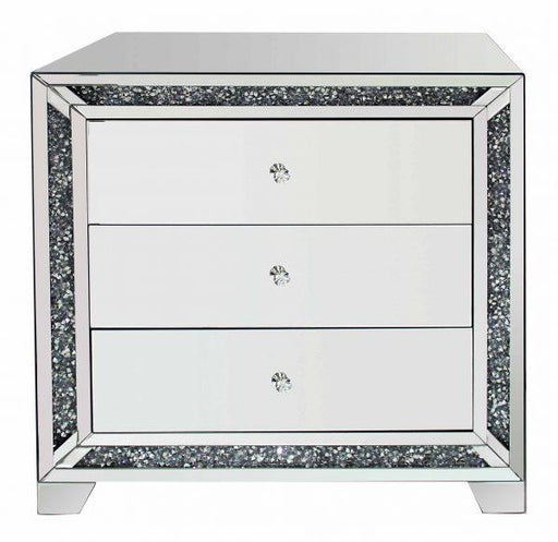 Crushed Diamond Chest Of Drawer - Furniture Imports LTD