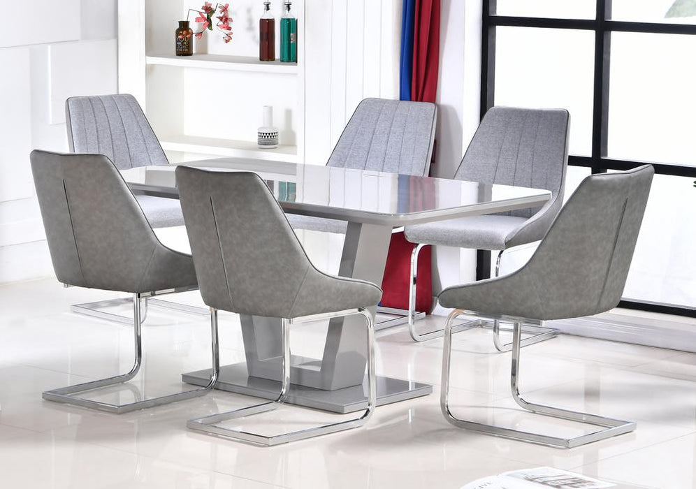 Tenerife Table with 6 Chairs - Furniture Imports LTD