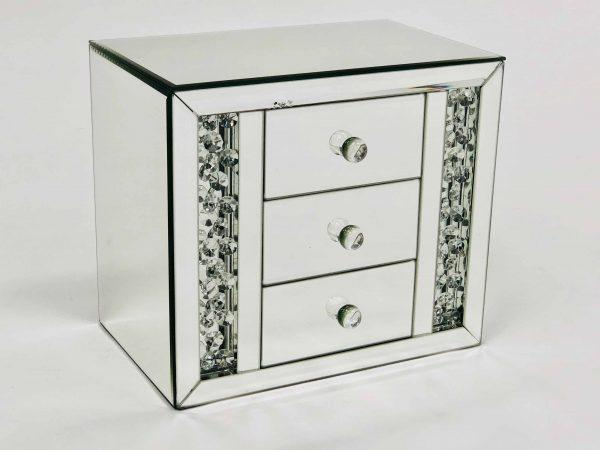 Floating Crystal 3D Jewelry Box - Furniture Imports LTD