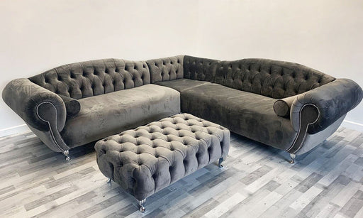 Fabrage French Velvet Sofa Range - Furniture Imports LTD