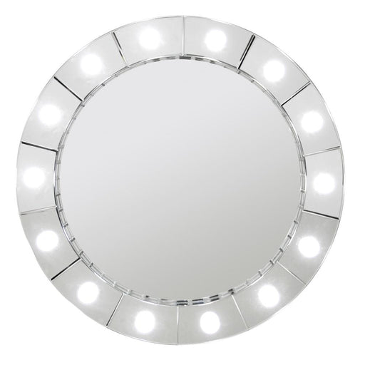 Hollywood Round Mirror - Furniture Imports LTD