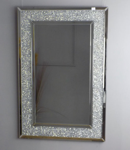 Gatsby Full Crystal Framed Mirror 80 x 120cm