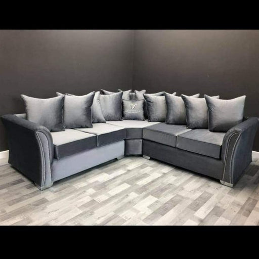 Sandy Premium French Velvet Sofa Range - Furniture Imports LTD