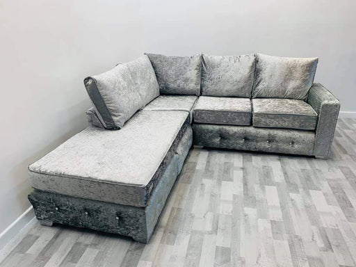 Charles Crushed Velvet Sofa Range - Furniture Imports LTD