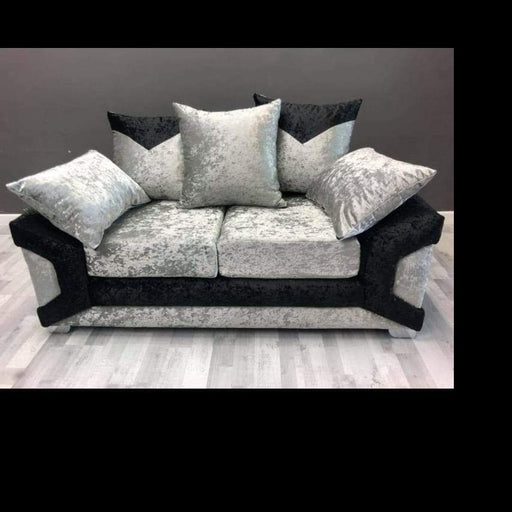 Clement Crushed Velvet Sofa Range