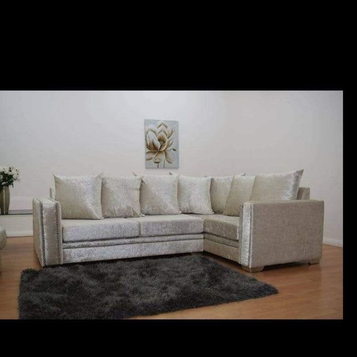 Sophie Crushed Velvet Sofa Range - Furniture Imports LTD
