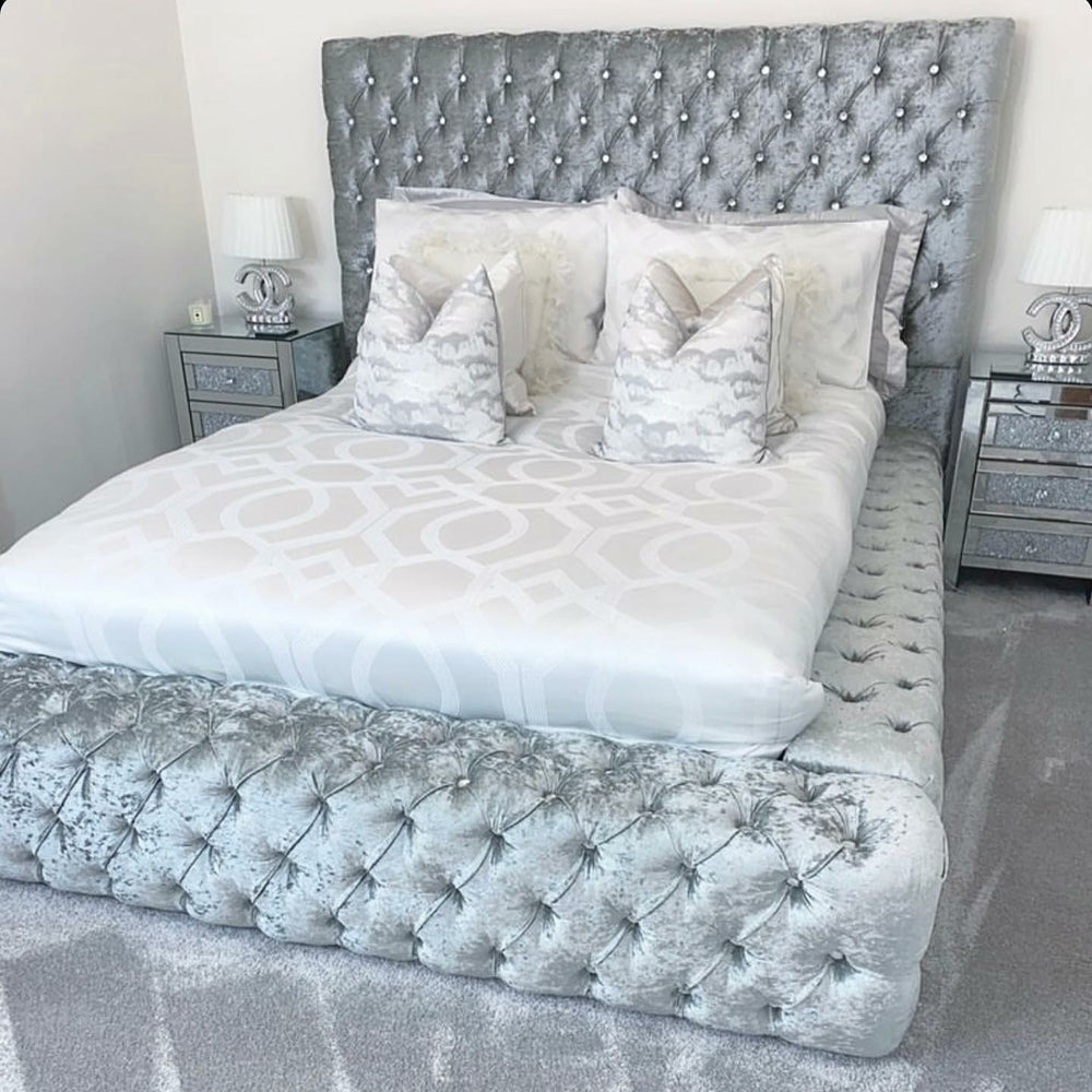 Parklane Crushed Velvet Bed Frame