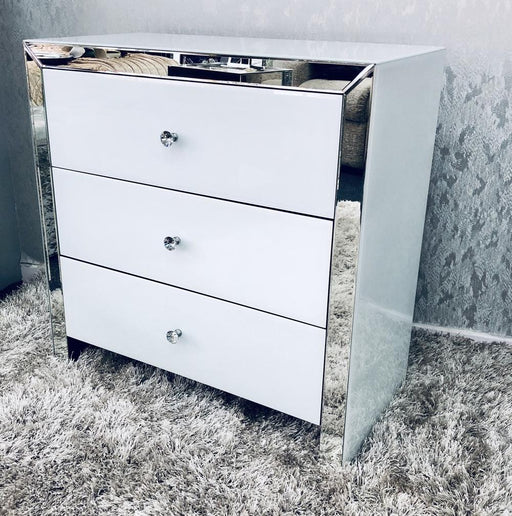 London White Chest of Drawers - Furniture Imports LTD