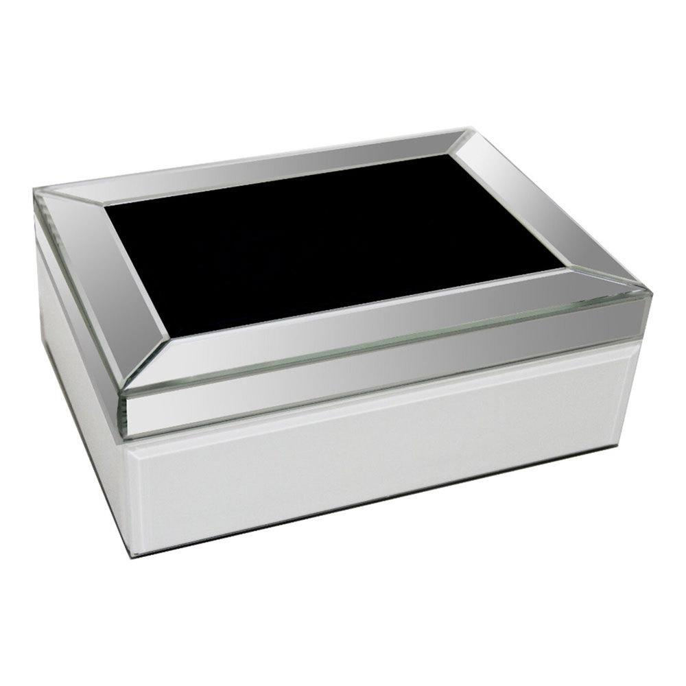 London Black Jewelry Box - Furniture Imports LTD