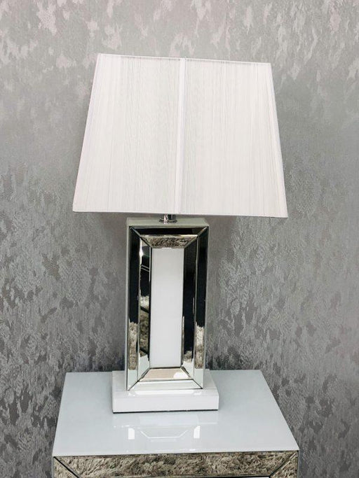 London White Table Lamp - Furniture Imports LTD