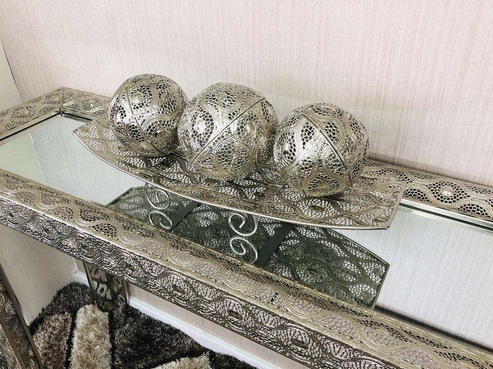 Metal Fruit Tray - Furniture Imports LTD