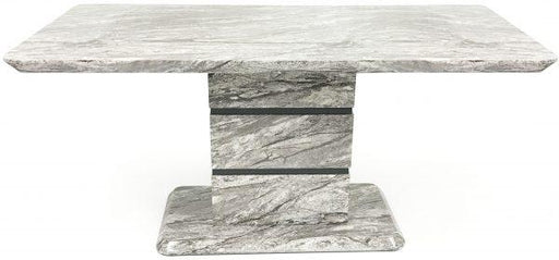 Roseberry Dining Table (Marble Effect) - Furniture Imports LTD