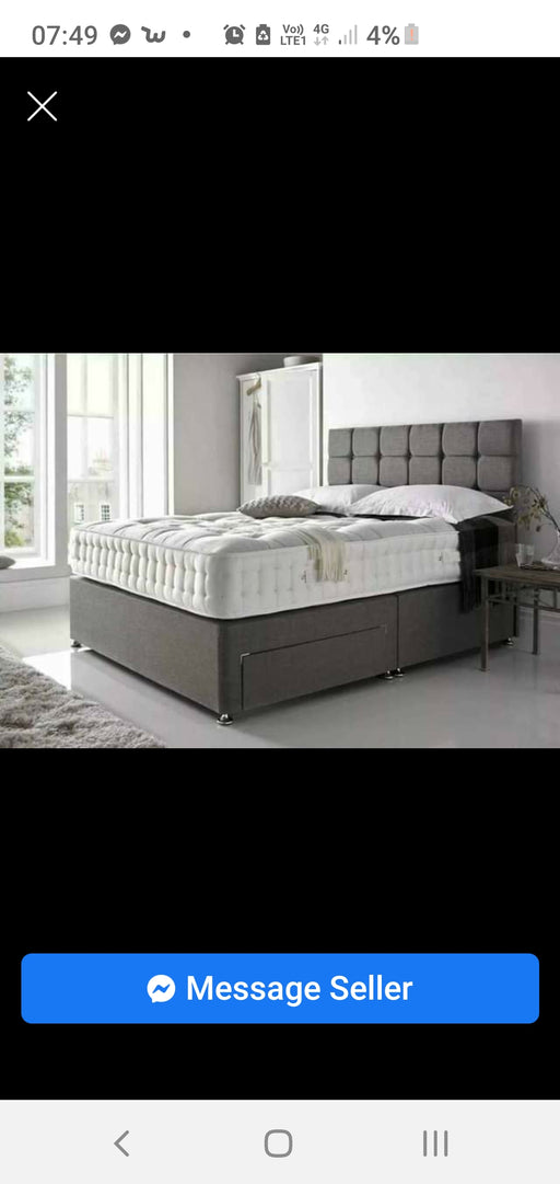 CUBE STYLE DIVAN BED