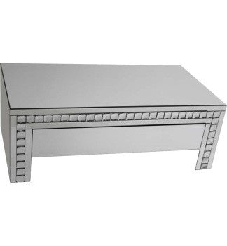 Silver Crystal Coffee Table - BESPOKEZ