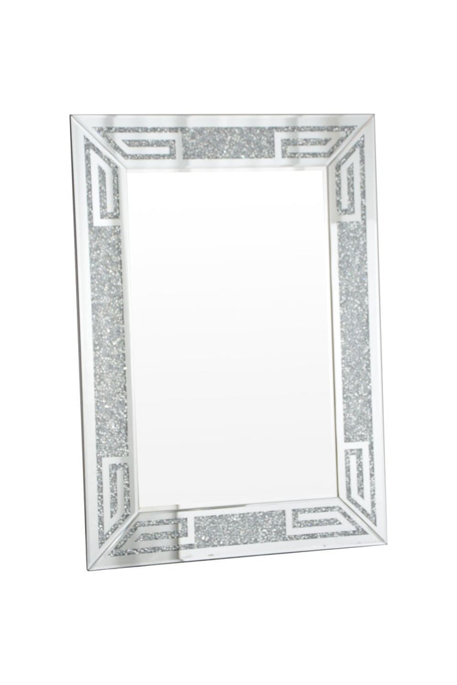 Crushed Diamond Wall Mirror 120/80 - Furniture Imports LTD