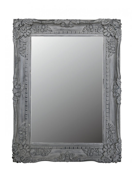 Grey Chateau Wall Mirror - BESPOKEZ