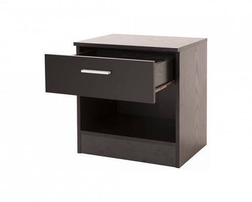 OTTAWA 1 Drawer Bedside with Shelf