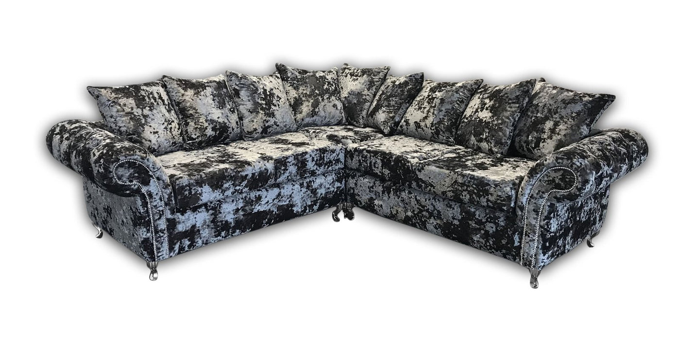 Duresta Lustro Crushed Velvet Sofa Range - Furniture Imports LTD
